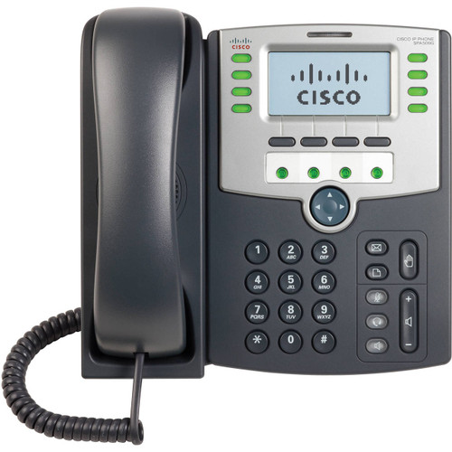 Cisco SPA509G SPA 500-Series 12-Line POE LCD IP Phone