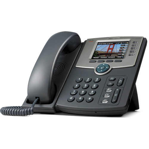NEW Cisco SPA525G2 SPA 500-Series 5-Line POE Color LCD IP Phone