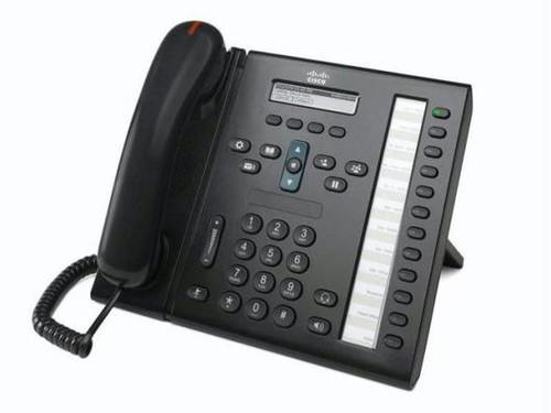 Cisco CP-6961-C-K9 Charcoal IP VOIP Phone w/Standard Handset