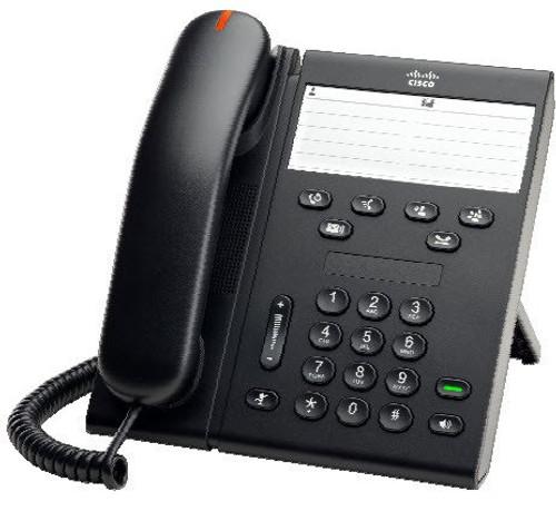 Cisco CP-6911-C-K9 Charcoal IP VOIP Phone w/Standard Handset