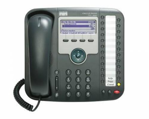 Cisco CP-7931G 7900 Series VOIP Phone (SIP or SCCP)