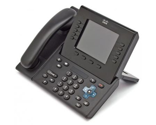 Cisco CP-8961-C-K9 Charcoal IP VOIP Phone w/Standard Handset