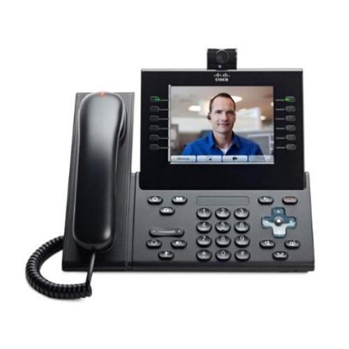 Cisco CP-9951-C-K9 Charcoal IP VOIP Phone w/Standard Handset