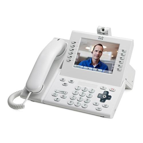 Cisco CP-9971-W-K9 Arctic White IP VOIP Phone w/Standard Handset
