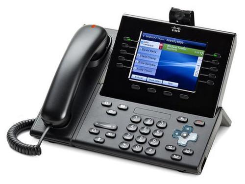 Cisco CP-9951-C-CAM-K9 Unified IP Charcoal Camera Phone 9951 w/ Standard Handset