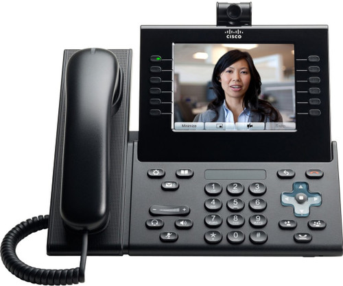 Cisco CP-9971-C-CAM-K9 Charcoal with Camera VOIP Phone