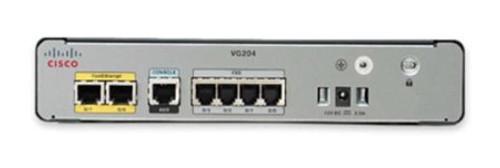 Cisco VG204XM VG Series 4-Port Analog Voice Phone (VoIP) Gateway