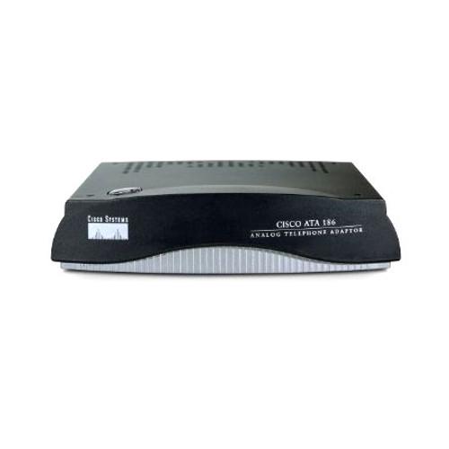 Cisco ATA188-I1-A Dual Line Analog Telephone Adaptor w/AC Power