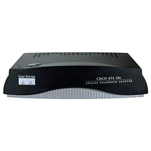 Cisco ATA 186 ATA186-I1-A Single Port Analog Phone Adapter Unlocked