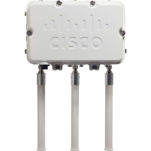 The Cisco® Aironet® 1550 Series Outdoor Access Point with Cisco CleanAir™ technology is the industry's first enterprise and carrier-grade 802.11n access point to create a self-healing and self-optimizing wireless network that mitigates the impact of wireless interference.