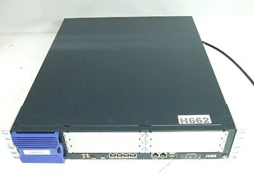 Juniper J-4350-JB J Series J4350 4-Port Gigabit 6 PIM Slot Services Router