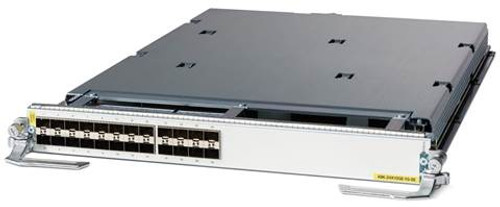 The new Cisco® ASR 9000 Series 400G and 200G Modular Line Cards provide customers with a highly flexible solution. They support multiple combinations of Ethernet ports, all in a single slot of the Cisco ASR 9000 Series Aggregation Services Routers (ASR 9000 Series). These modular line cards have two open bays (bay 0 and bay 1) for plugging in ASR 9000 Series modular port adapters (MPA), which gives network operators the flexibility to choose the ideal port density, speed, and optic based on their network requirements. With ASR 9000 Series modular line cards and the MPA portfolio, Cisco continues to focus on investment protection, along with consistent feature support, broad interface availability, and the latest technology. The latest additions to the MPA portfolio include the Cisco ASR 9000 Series 20-Port 10GE Modular Port Adapter , the 2-Port 100GE Modular Port Adapter, and the 1-port 100G Modular Port Adapter.