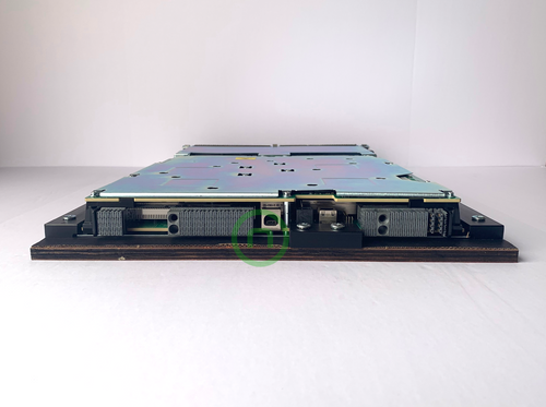 The Cisco® A9K-MOD160-SE ASR 9900 Series 32-port 100 Gigabit Ethernet Line Cards deliver industry-leading high density, with line-rate 100 Gigabit Ethernet ports, to any slot of a Cisco ASR 9900 Series Aggregation Services Router. These high-capacity line cards are designed to remove bandwidth bottlenecks in the network that are caused by a large increase in Video-on-Demand (VoD), IPTV, point-to-point video, Internet video, and cloud services traffic. A single 100 Gigabit Ethernet port can now replace large 10 Gigabit Ethernet link aggregation bundles to simplify network operations. Based on QSFP technology, this line card has flexible interfaces that support 100 Gigabit Ethernet, 40 Gigabit Ethernet, 50 Gigabit Ethernet, 25 Gigabit Ethernet and 10 Gigabit Ethernet modes, so it gives customers the flexibility to mix and match interface types on the same line card.
