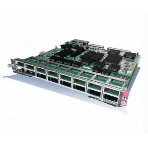 Cisco® announces a new 16-port 10 Gigabit Ethernet module for the Cisco Catalyst® 6500 Series. The 16-port 10 Gigabit Ethernet module doubles the 10 Gigabit Ethernet density on the Cisco Catalyst 6500 Series, providing up to 130 ports of 10 Gigabit Ethernet in a single Cisco Catalyst 6500 chassis. It is ideal for deployment in the LAN campus aggregation or data center access, where fanout and port density are important.