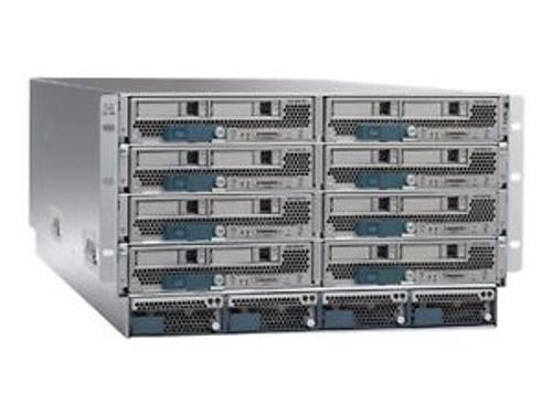 Cisco UCSB-5108-AC2 UCS 5108 Blade Server 4x PSU 8x Fans 2x FEX