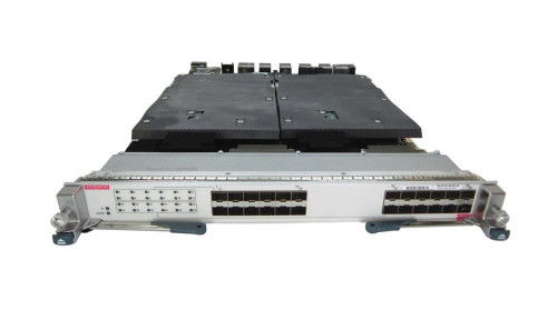The Cisco Nexus® 7000 M2-Series 24-Port 10 Gigabit Ethernet Module with XL Option  is a highly scalable, high-performance module offering outstanding flexibility and full-featured, non-blocking 10 Gigabit Ethernet performance on each port.