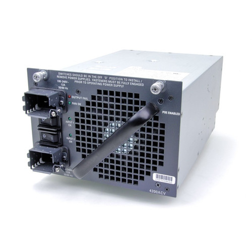 The Cisco® Catalyst® 4500E Series platform offers a variety of choices in power supplies to enable the desired Power over Ethernet scale and chassis configuration.