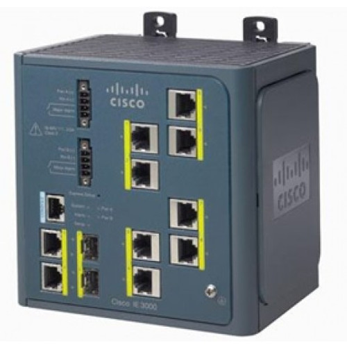 The Cisco® Industrial Ethernet 3000 Series  is a family of Layer 2 and Layer 3 switches that bring Cisco's leadership in switching to Industrial Ethernet applications with Innovative features, robust security, and superior ease of use.