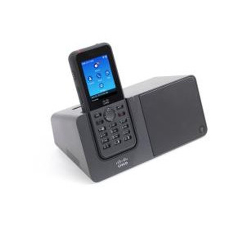 The Cisco Wireless IP Phone 8821 comes with a resilient, sealed, and ruggedized exterior and extended-life batteries.