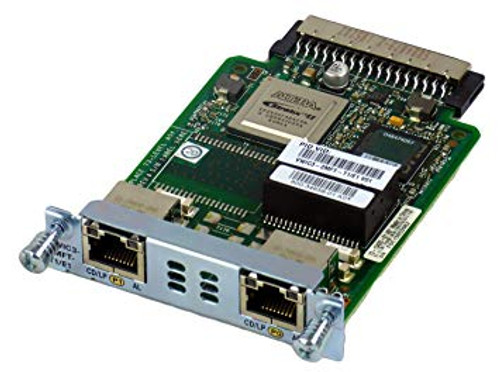 These flexible interface cards support multiple integrated data, voice and video applications, facilitating the migration from data only as well as circuit-switched voice/video services to a packet voice/video solution