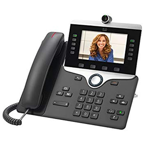 "With the Cisco IP Phone 8811, you can increase personal productivity through an engaging user experience that is both powerful and easy-to-use. The IP Phone 8811 combines an attractive new ergonomic design with wideband audio for crystal clear voice communications, ""always-on"" reliability, encrypted voice communications to enhance security, and access to a comprehensive suite of unified communications features from Cisco on-premises and hosted infrastructure platforms and third party hosted call control."