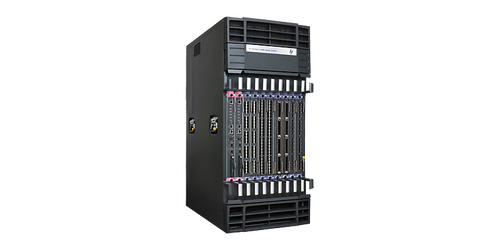 The HP 12518E Switch Chassis is an 18-slot AC-powered modular next-generation switching platform that delivers the scalablity and performance needed in the data center.