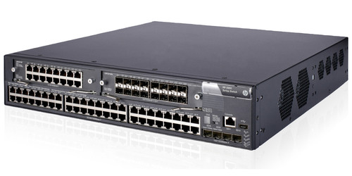 The HP 5800 Switch Series gives you versatility and high performance in a 10/100/1000 top-of-rack, data center switch architecture that offers deployment flexibility.
