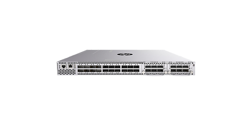 The HP Altoline 6700 Switch Series is an open-networking, disaggregated family of low-latency 40GbE data center switches in a 1U form factor.