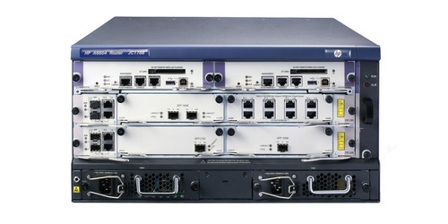 The HP 6600 Router Series is a family of high-performance WAN routers that is ideal for campus and data center WAN edge and aggregation deployments.