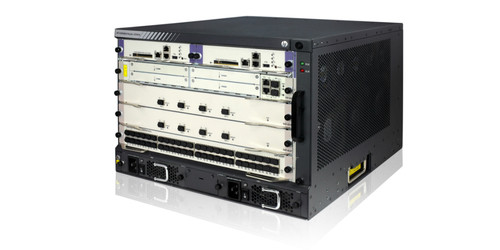 The HP HSR6800 Router Series is a family of high-performance, multiservice routers designed for data center interconnection, enterprise WAN core, campus WAN edge, and high-speed WAN aggregation services.