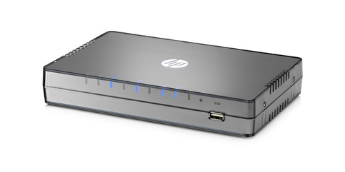 The HP R100 Router Series is an ideal all-in-one solution for small businesses.
