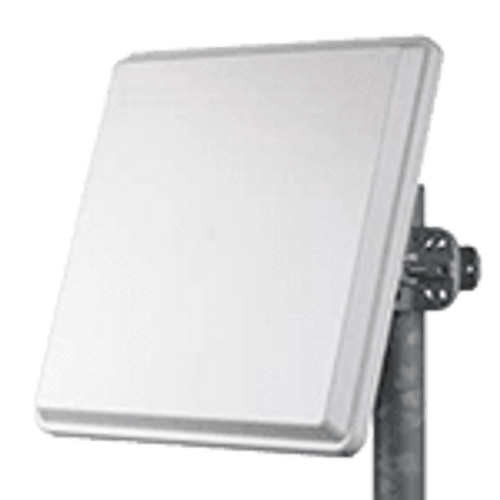 One high gain directional antenna, dual-polarized 21dBi gain and 10degrees 3dBm beam width, including one dual plane adjustable wall/pole mounting kit and two 1m RF cables with N-Type connectors