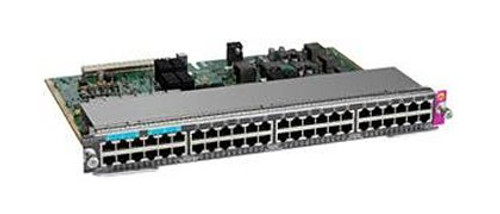 The Cisco Catalyst 4500E Series offers line cards, power supplies, and accessories required to deploy and operate standards-based Power over Ethernet/Power over Ethernet Plus and Universal POEP.