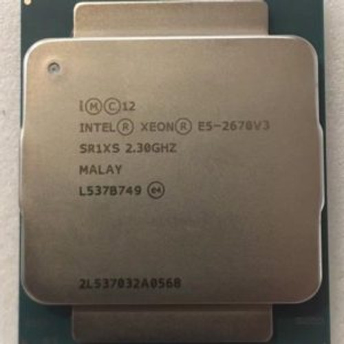 Intel Xeon E5-2670v3 (2.3GHz/12-core/30MB/120W) Processor