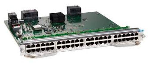 Cisco C9400-LC-48T c9400 48 port 10/100/1000 (RJ 45) Line Card
