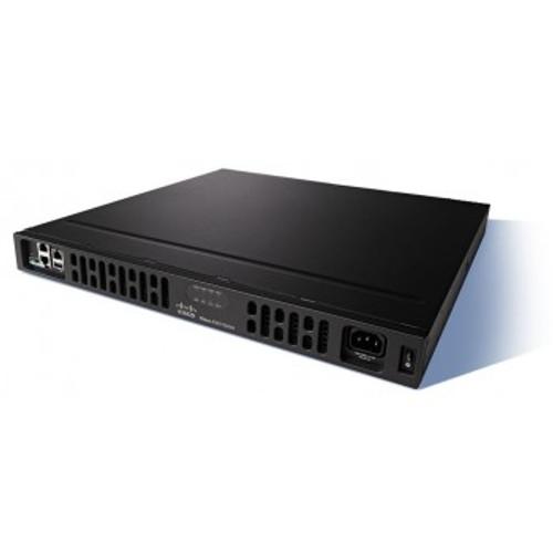 Cisco ISR4431-AX/K9 4 WAN/LAN ports, 4 SFP ports, multi-Core CPU, Dual-power