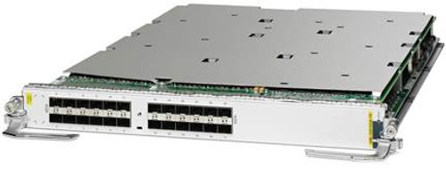 The Cisco® ASR 9000 Route Switch Processor 880 (RSP 880) is the system processor for the Cisco ASR 9010 Router, ASR 9006 Router, and ASR 9904 Router. RSP880-LT is the system processor for ASR 9010, ASR 9006, ASR 9904, ASR 9910 Router and ASR9906 Router. It supports high-density 100 Gigabit Ethernet line cards and provides backward compatibility with the Cisco ASR 9000 Series second family of line cards (Figure 1 & Figure 2). The Cisco ASR 9000 RSP 880 system architecture is designed to accommodate new programmable deployment models and convergence of Layer 2 and Layer 3 services, as required by today's wireline, data-center-interconnect (DCI), and Radio Access Network (RAN) aggregation applications. CISCO A9K-4X100GE-SE - 4-port 100GE SE card -OTN - LIFETIME WARRANTY CISCO A9K-MOD400-TR