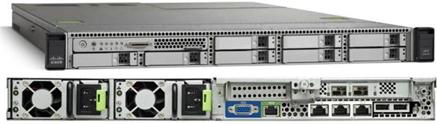 Cisco UCS C240 M4 SFF 8 HD w/o expdr,CPU,mem,HD,PCIe,PS,railkt