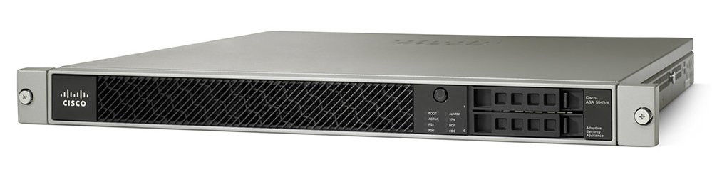 New CISCO ASA5545-FPWR-K9 ASA 5545-X SECURITY APPLIANCE WITH FIREPOWER  SERVICES