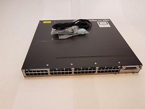 NEW Cisco WS-C3750X-48P-S Gigabit PoE Switch IP Base 715W AC 3750X