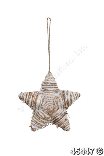 "[45447] 8.3x8.3""Star ornament"