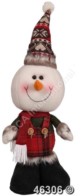 """[46306] 14""""standing snowman"""