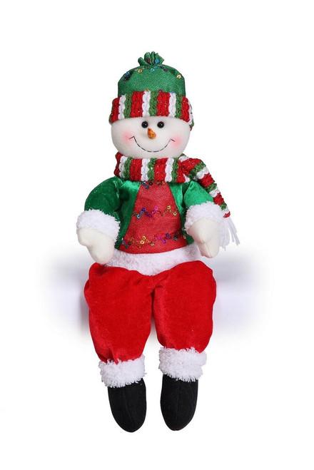 "[43659] 17""singiing/moving head snowman"