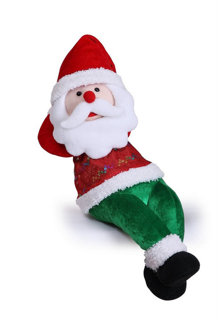 "[43667] 8x21""snoring santa"