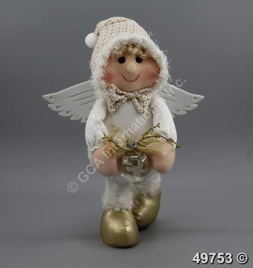 "[49753] 14"" Standing angel"