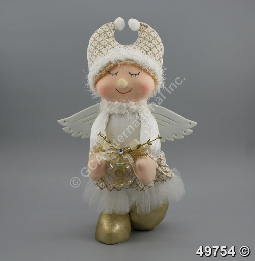"[49754] 14"" Standing angel"