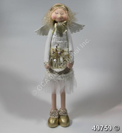 "[49759] 28.5"" Big standing angel"