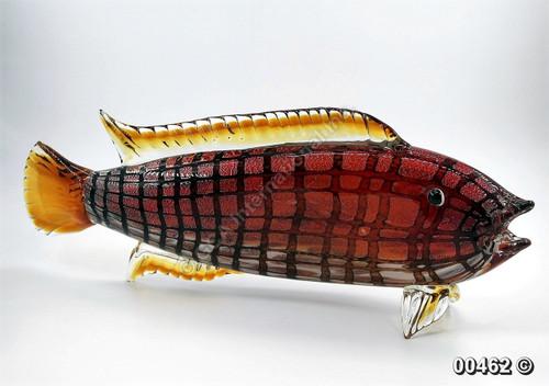 "[00462] 27.5"" glass fish"