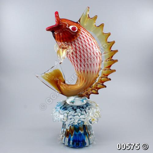 """[00575] 18"""" glass carp"""
