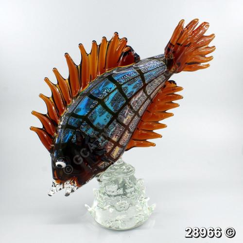 "[28966] 16"" glass fish"